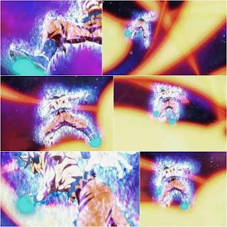 Goku sliding