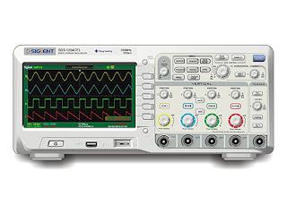 Darmatek Jual Siglent SDS-1204CFL 4-Channel, 200MHz Bandwidth