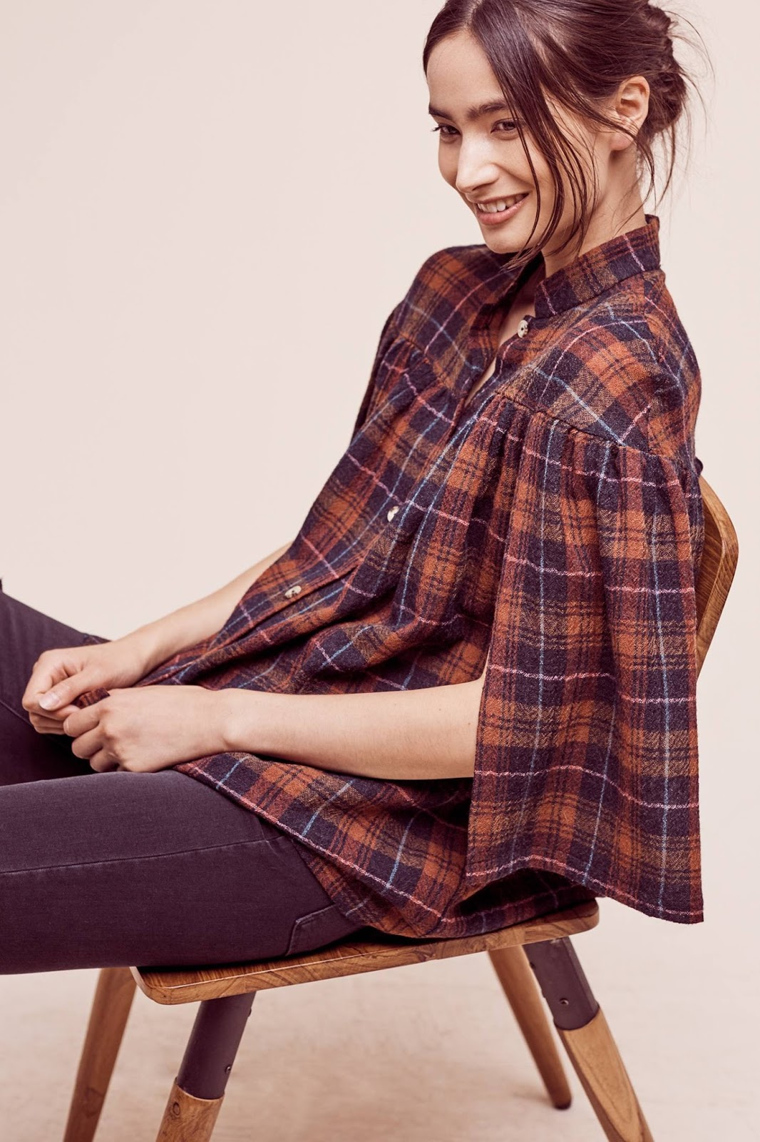 My top fall picks from Anthropologie include this gorgeous wool top, Tess.