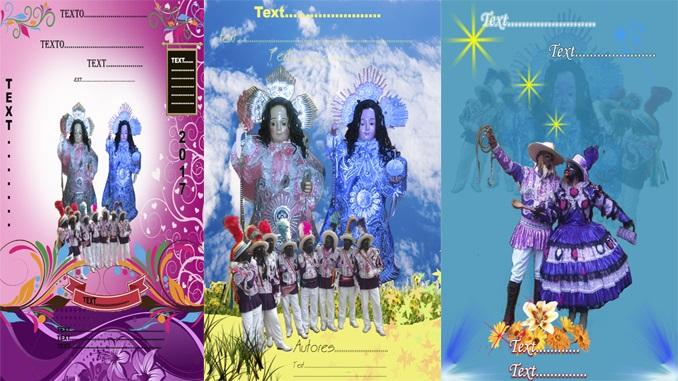 Fondos religiosos psd para tarjetas y pancartas