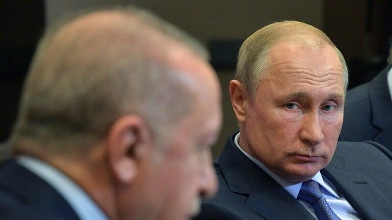بوتين-وأردوغان-يبحثان-هاتفيا-المستجدات-الإقليمية-وفي-مقدمتها-الوأوضاع-في-ليبيا-وسوريا