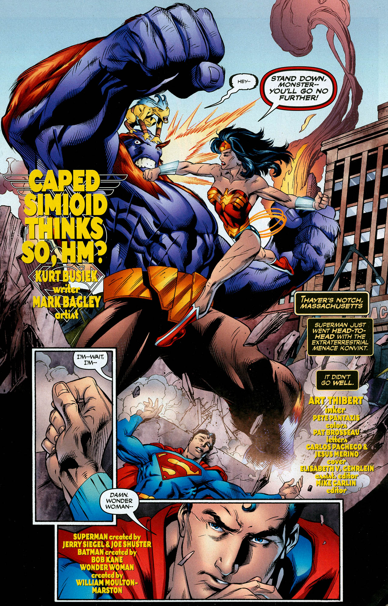 Read online Trinity (2008) comic -  Issue #4 - 3