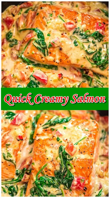 Quick Creamy Salmon