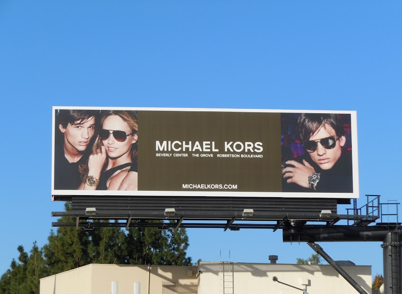 Michael Kors eyewear 2011 billboard