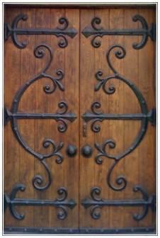 ukuran pintu kupu tarung minimalis
