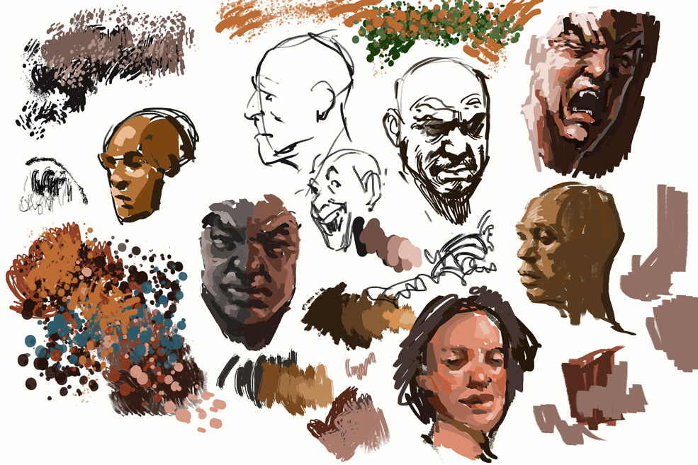 Art In A Busy World: Exploring Brush Options in Digital Painting