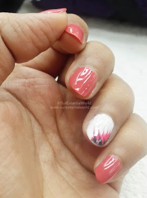 Nail Art Done At F Salon, Rajouri Garden