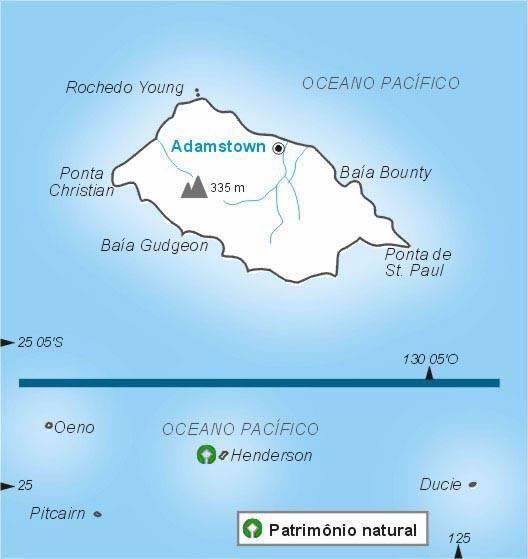 Ilhas Pitcairn | Território do Reino Unido