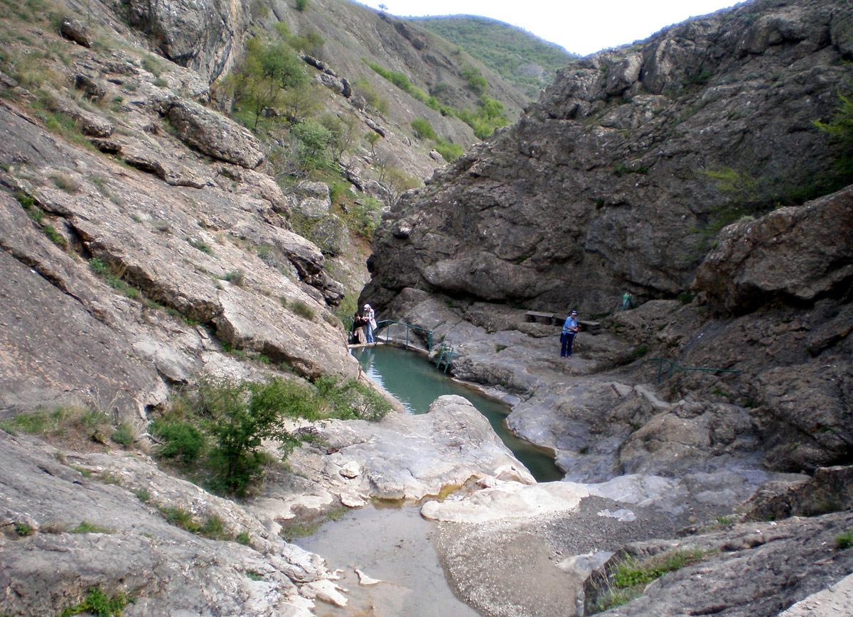 Арпатские водопады в Крыму