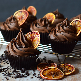 Double Chocolate Orange Cupcakes