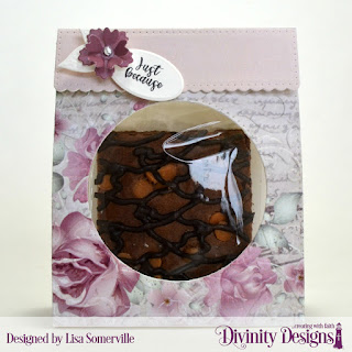 Divinity Designs Stamp Set: Festive Favors Tag Sentiments, Custom Dies: Festive Favors, Embossing Folder: Flourishes, Paper Collection: Romantic Roses