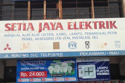 Lowongan Kerja Pekanbaru : Setia Jaya Elektrik April 2017