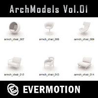 Evermotion Archmodels vol.01單體3dsMax模型合集第01期下載