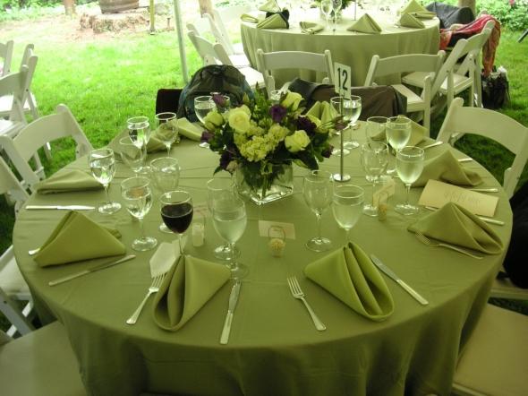 Table setting ideas, wedding table setting ideas: Wedding