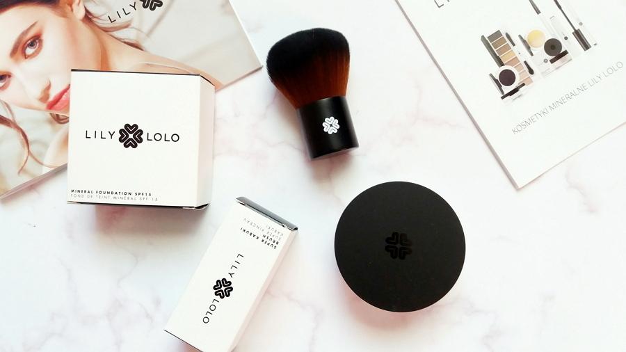 Lily Lolo • Podkład mineralny SPF15 | Super Kabuki, Pędzel do makijażu