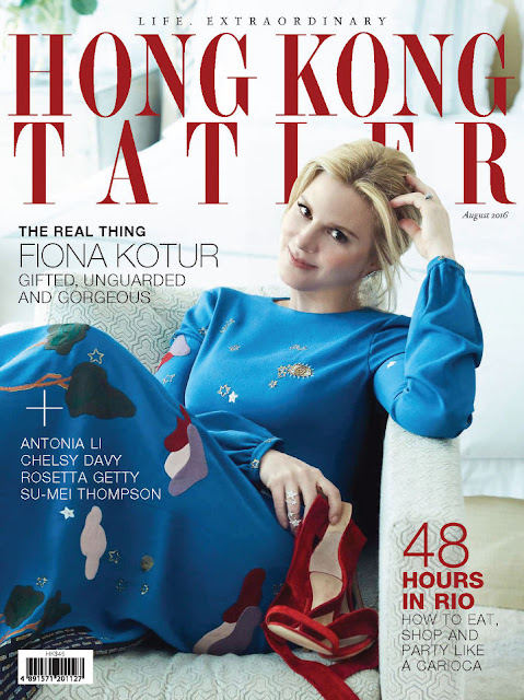 Handbag Designer, @  Fiona Kotur - Hong Kong Tatler, August 2016