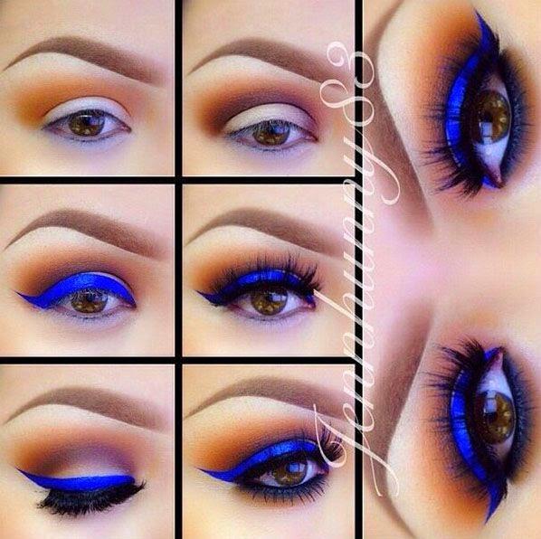 Super Trucchi Del Make Up: Trucco occhi marroni JV01