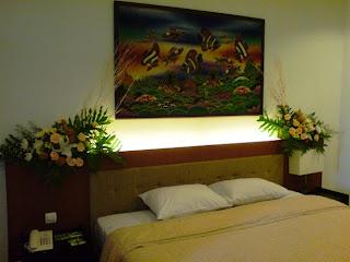 alamanda puspita: dekorasi kamar pengantin
