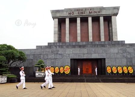 Mausoleo Ho Chi Minh en Hanoi