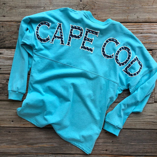 Cape Cod Spirit Shirt with Whale design