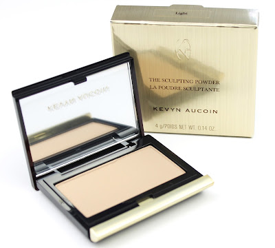 Kevyn Aucoin Sculpting Powder in Light  review swatch contour fair pale skin