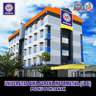 Unversitas Bina Sarana Informatika UBSI - Nizwar ID