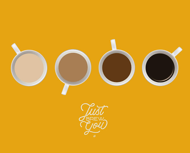 LostBumblebee ©2018 MDBN Just Brew You, Coffee Print, Free for personal use ONLY, must link back to www.lostbumblebee.net