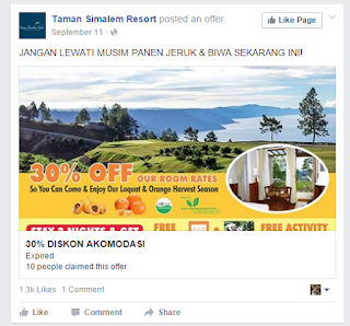 contoh iklan produk hotel resort