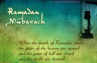 Ramadan Mubarak Quotes Sayings