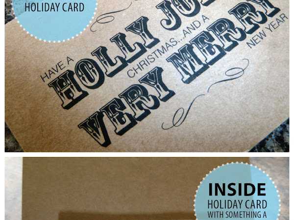 { Add a Little Fanciness to a Gift Card }