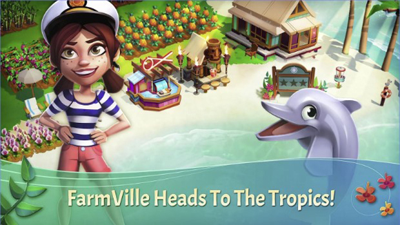 Download FarmVille Tropic Escape Mod Apk v1.43.1653 Unlimited Money Coins Gems Terbaru