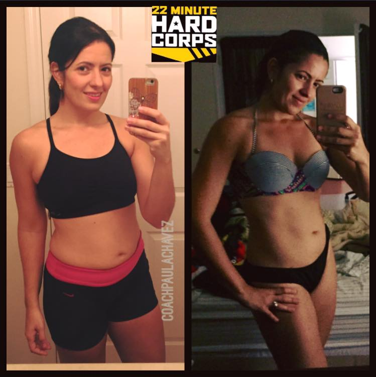 COACH PAULA CHAVEZ: 22 MINUTE HARD CORPS RESULTS --test group ...