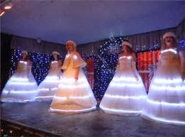 Pleasure Island Nc Kure Beach Fantasy Christmas Show