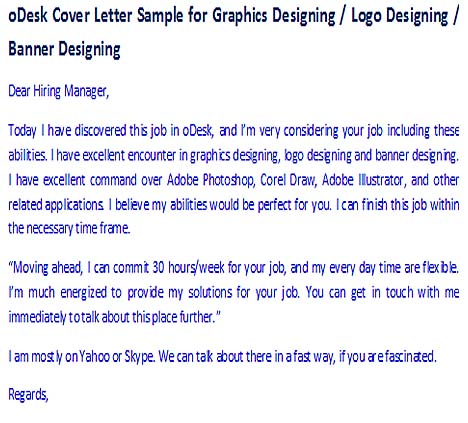 How to Write a Cover Letter in oDesk – Tips and Tricks