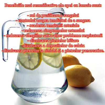 beneficiile apa plata cu lamaie preparare detoxifiant natural