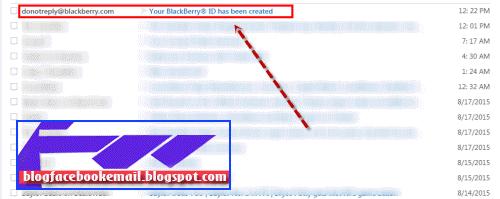 cara membuat id Blackberry android