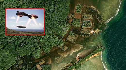 Descubren una antigua ciudad en medio del Océano Pacífico