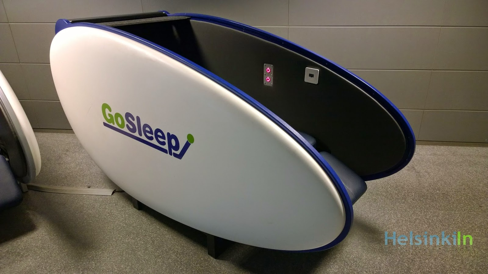 Sleeping Pods Helsinkiin Charge Your Own Batteries