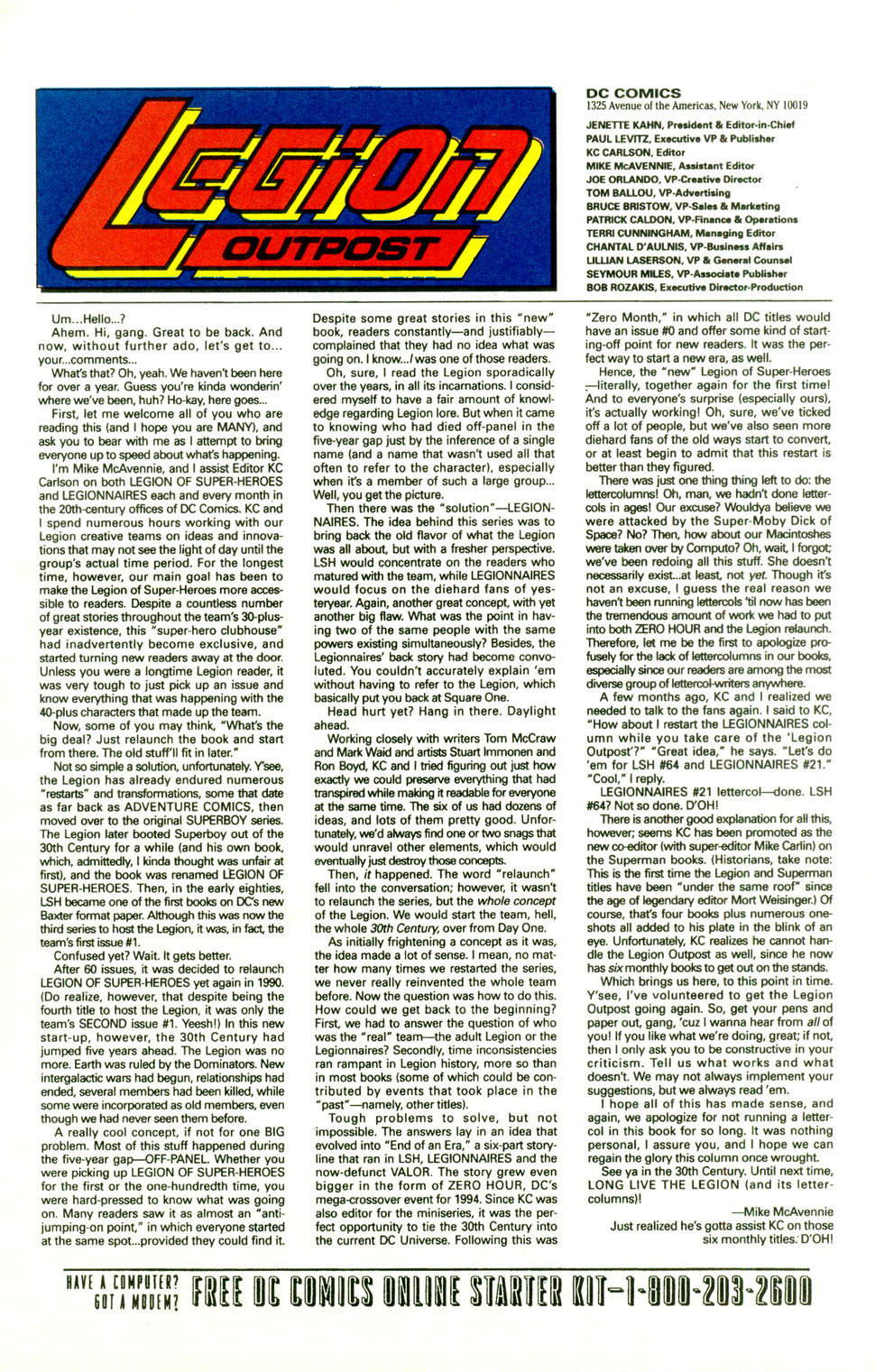 Legion of Super-Heroes (1989) 68 Page 26