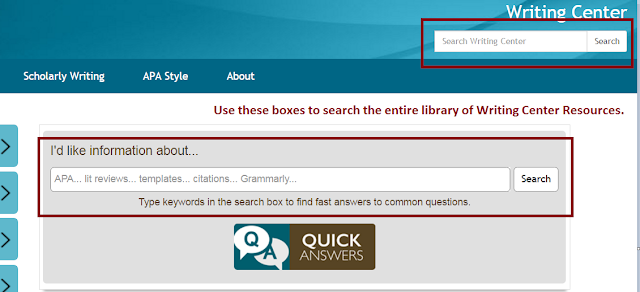 Use these two search boxes to access the library of resources available to Walden Students and the public.