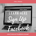 Facebook Sign Up for Page