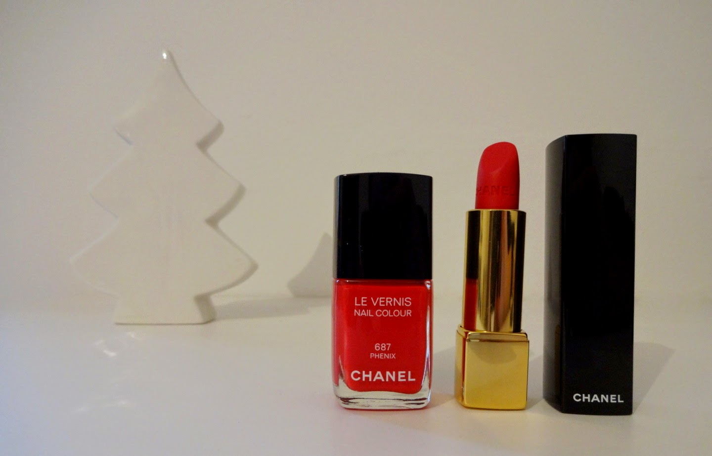 chanel make up christmas collection 2014 natale plumes precieuses, chanel rouge allure velvet la flamboyante, le vernis phenix