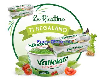 Logo Le Ricottine Vallelata ti regalano la Mozzarella: ottimizza i buoni sconto
