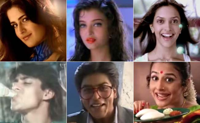Indian Famous Celebrities Act In Ads Before In Movies ...