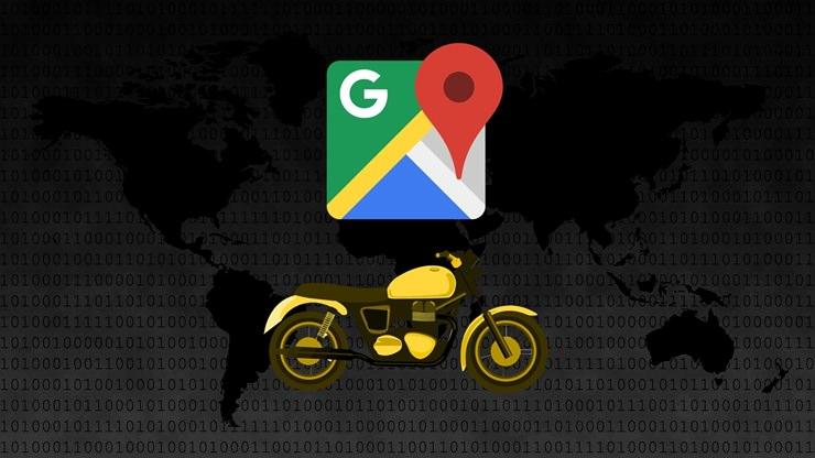 Google Haritalar'a Motosikletliler İçin Yeni Mod Eklendi!