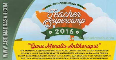 Anti-Corruption Teacher Supercamp 2016, Mari Guru RA Dan Madrasah