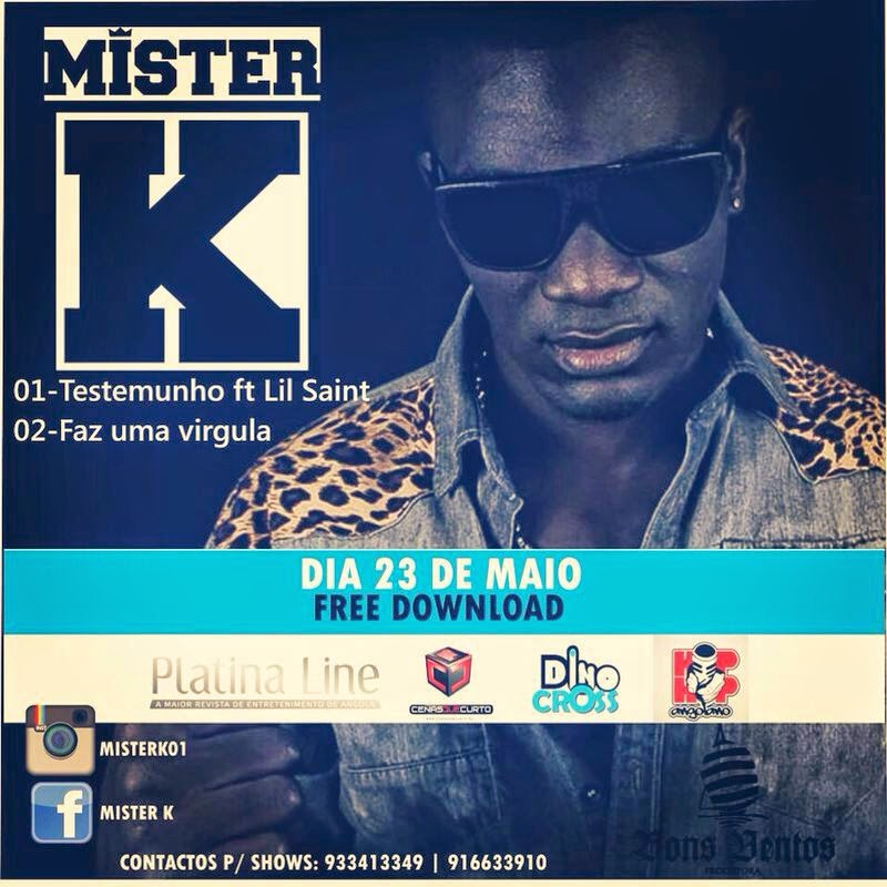MISTER K REGRESSA AO RAP COM MUITA GARRA (MUSICAS NOVAS DOWNLOAD)