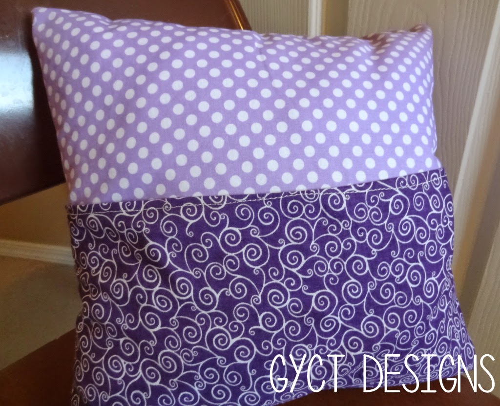 FREE Penny Pocket Pillow Pattern at GYCT