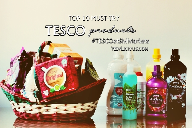 TESCO Philippines at SM Markets, Top 10 Must-Try TESCO Products