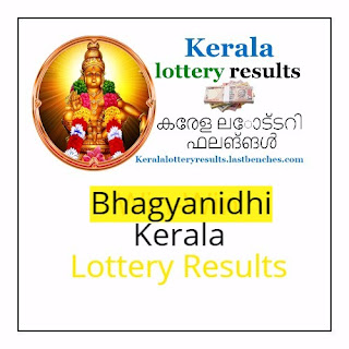 Kerala Bhagyanidhi lottery result-Bhagyanidhi bn lottery results